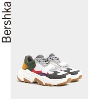 Bershka男鞋 2019新款潮流拼接彩色运动休闲鞋老爹鞋 14222032203