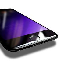 GUSGU iPhone6Plus钢化膜苹果6s手机全屏全覆盖3D抗蓝光贴膜六4.7