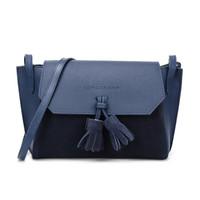 LONGCHAMP 珑骧 Pénélope Soft 女士系列蓝色牛皮单肩斜挎包 2066 861 127  限plus用户