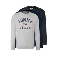 TOMMY HILFIGER 男士圆领套头卫衣(DM0DM07024)