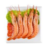 海买 进口阿根廷红虾 360g 7-11只 盒装
