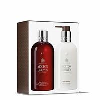 Molton Brown Rosa Absolute 沐浴和身体礼品套装(2 x 300ml)
