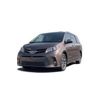 丰田塞纳2020款四驱Limited顶配新车MPV平行进口车 棕色