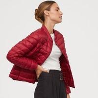 H&M 0755363 女士薄款羽绒外套