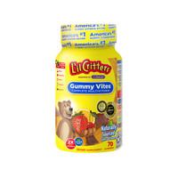 L'il Critters 儿童辅食复合多种维生素小熊糖 70粒 *4件