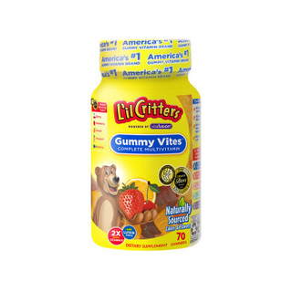L'ilCritters 小熊糖 复合维生素软糖儿童营养辅食零食 70粒