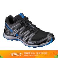 萨洛蒙(Salomon)男款户外防滑耐磨透气越野鞋 XA LITE 黑色 393307 UK9.5(44)