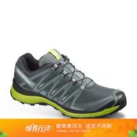 萨洛蒙(Salomon)男款户外防滑耐磨透气越野鞋 XA LITE 墨色 406709 UK9(43 1/3)