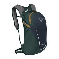 OSPREY 日光13升户外双肩包 运动旅行多功能电脑背包DAYLITE 灰拼绿