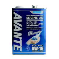 AUTOBACS QUALITY 合成铁罐机油 0W-16 SN级 4L *3件