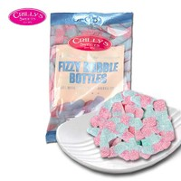 英国进口160克气泡瓶型水果口味糖软糖果喜糖礼物两包