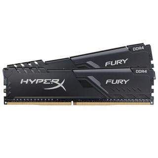 Kingston 金士顿 骇客神条 Fury雷电系列 台式机内存 32GB(16GBx2) DDR4 3200MHz
