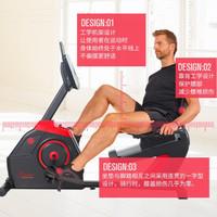 美国 SUNNY 电磁控卧式健身车