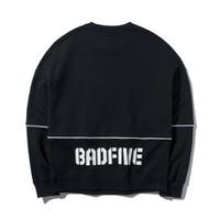 LI-NING 李宁 BADFIVE篮球系列 AWDP542 女士宽松加绒卫衣