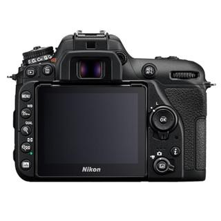 尼康(Nikon)D7500 单反数码照相机 套机(AF-S DX 尼克尔 18-200mm f/3.5-5.6G ED VR II 防抖镜头)黑色