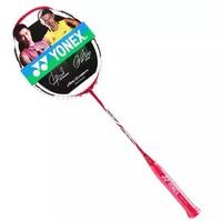 尤尼克斯YONEX羽毛球拍单拍弓箭ARC11全碳素yy羽拍 金属红未穿线 *2件