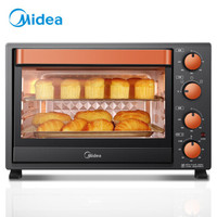 Midea 美的 T3-L326B 电烤箱  32升
