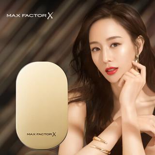 蜜丝佛陀(Max Factor)透滑粉饼1号 10g 玉瓷色(彩妆 粉底 定妆 修容 持久 )与新年款随机发货