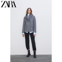 ZARA  08086666802 女士围裹领大衣外套