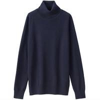 MUJI 无印良品 W8AA871 女士高领毛衣 *5件