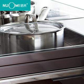 Nuomi 诺米 紫水晶系列厨房橱柜铝合金拉篮双层碗碟篮