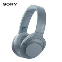 索尼(SONY)WH-H900N 蓝牙无线耳机 降噪耳机 头戴式 Hi-Res游戏耳机 手机耳机 月光蓝