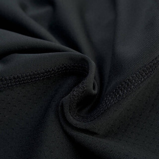 李宁lining健身运动紧身裤速干透气户外篮球跑步训练长裤AULP069-1 2XL码 黑色