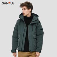 SANFU 三福 413688 男士工装风棉服