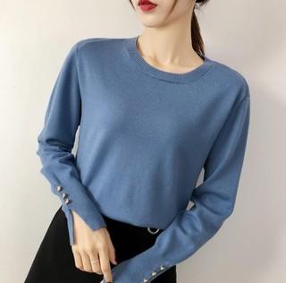 LDL10998 女士长袖针织打底衫