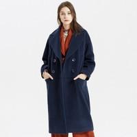 ME&CITY 女士中长款外套女式大衣