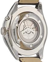 SEIKO 精工 男式 模拟自动手表带有皮革带–srn049p1