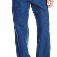 Carhartt 男士水洗牛仔原版工装裤 B13