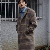 GXG GY126083G 男士长款大衣