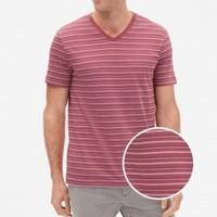 Gap 盖璞 418450  男士条纹短袖T恤