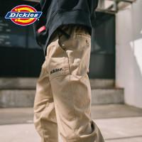 Dickies字母慢跑裤 男式腰部可调节脚口螺纹长裤DK007068 *2件