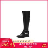 秋冬靴子皮靴长靴女中筒靴女高筒靴女长筒靴1017605209