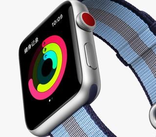 Apple 苹果 Watch Series 3 智能手表 42毫米 (GPS+蜂窝网络 运动型表带 )