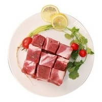 恒都 谷饲牛肉 订制牛肉块 1kg/袋   *5件