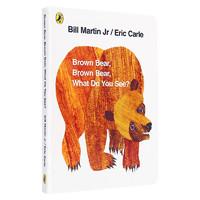 《Brown Bear Brown Bear What Do You See》英文原版 升级点读版