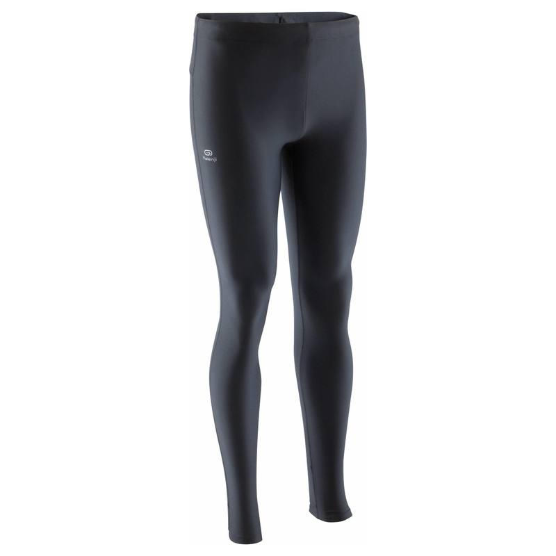 DECATHLON 迪卡侬  男士跑步紧身裤 RUN DRY MEN'S RUNNING TIGHT 黑色 XS