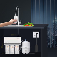 Angel 安吉尔 家用直饮净水机过滤器自来水家用反渗透RO滤水器A1