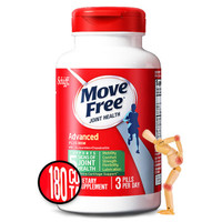 Move Free 益节 氨糖维骨力 绿瓶 180粒 *2件