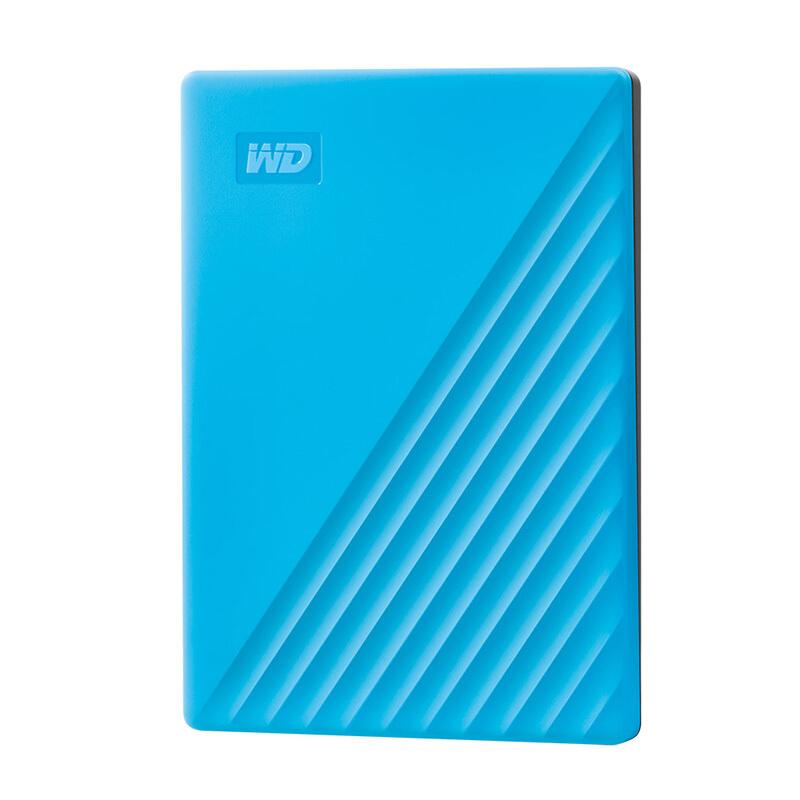 Western Digital 西部数据 My Passport系列 2.5英寸 USB3.0移动机械硬盘 2TB 旗舰随行版 活力蓝