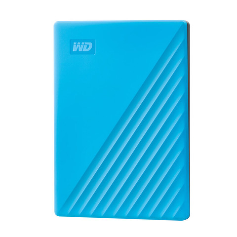Western Digital 西部数据 My Passport 4TB 移动硬盘 随行版