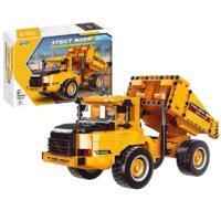星堡积木 城市工程车模型系列 03034 自卸车