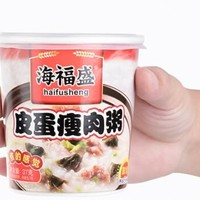 海福盛 冻干粥 222g*6桶装