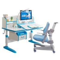 Totguard 护童 抑菌系列 儿童学习桌椅套装 (HTH-512YW 蓝+HTY-637F 蓝)