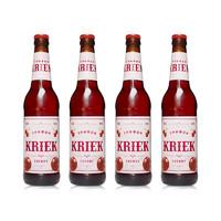 唯吉熊 精酿水果味啤酒 樱桃口味  500ml*4瓶装