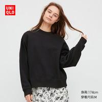 UNIQLO 优衣库 427798 女装 圆领运动衫(长袖)