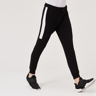 MARKLESS 卫裤男运动裤纯色小脚修身休闲长裤青年CLA8822M黑色175/L(2.52尺)